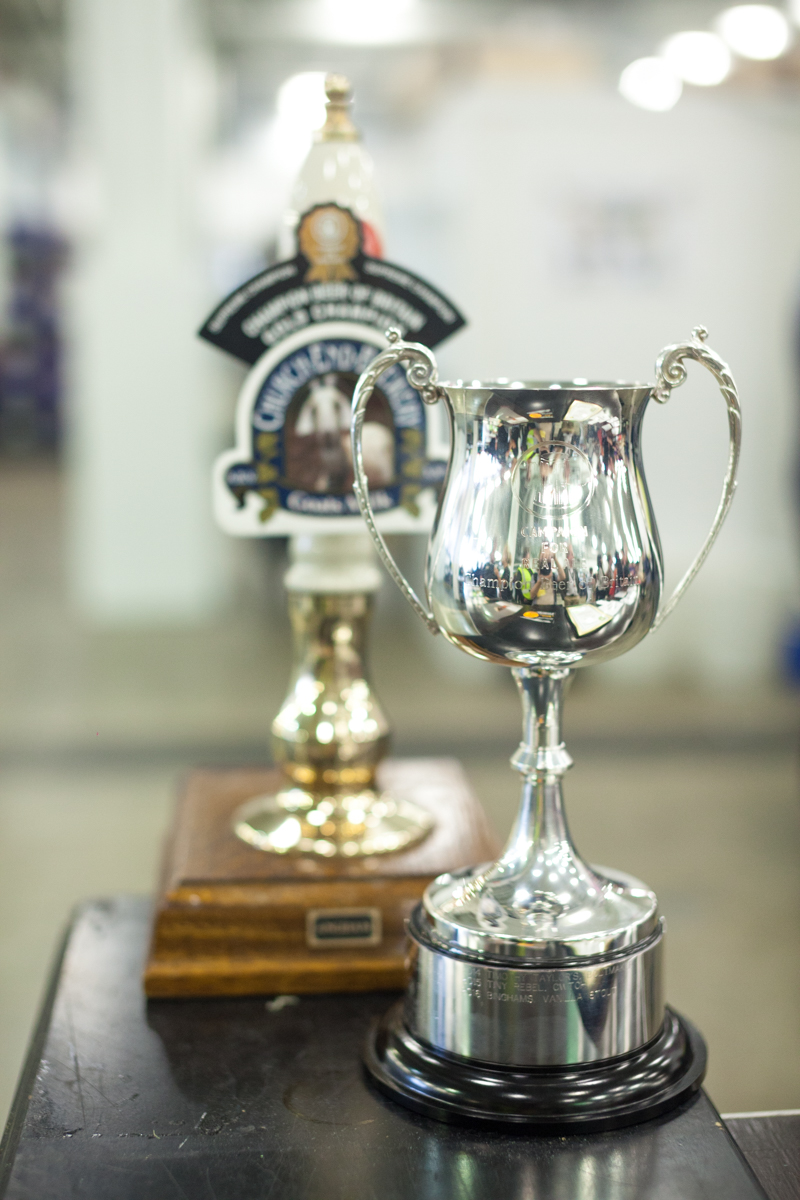 Church End brewery won gold in the Champion Beer of Britain competition