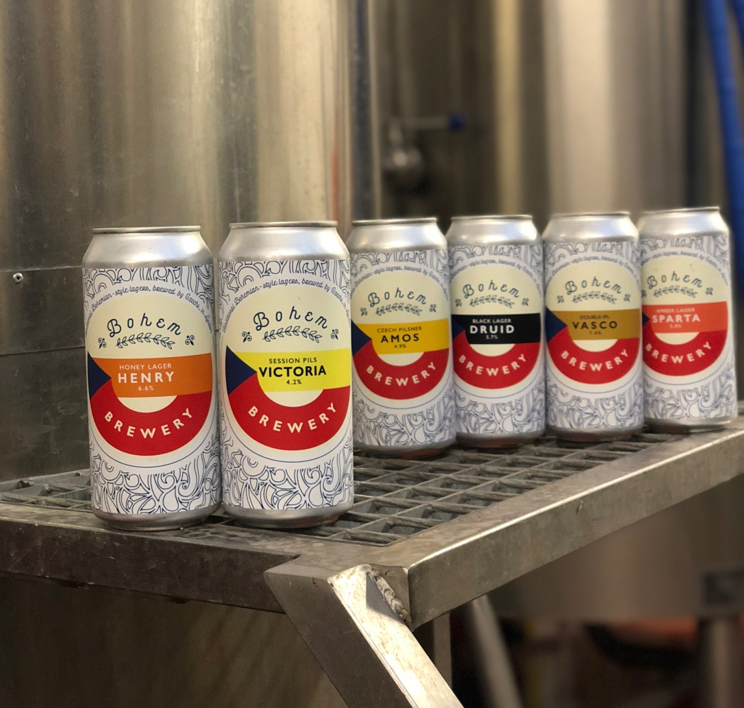 bohem brewery expanded can range